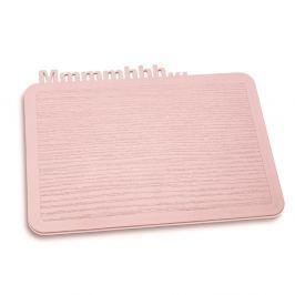 Deska do krojenia 19,8x25 cm Koziol Happy Board pastelowy róż