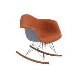 Krzesło P018 RAR Duo D2 pomarańczowo-szare