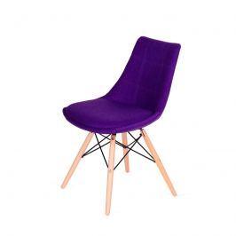 Krzesło King Bath Fabric fioletowe