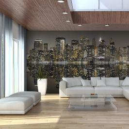 Fototapeta - American skyscrapers (550x270 cm)