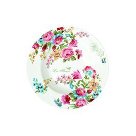 Talerz na zupę 21,5 cm Nuova R2S Jardin Secret kwiaty