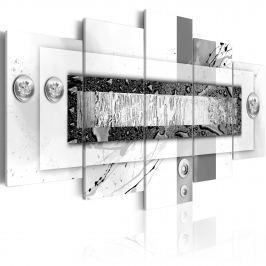 Obraz - Balans szarości (100x50 cm)