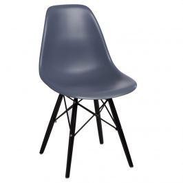 Krzesło P016W PP D2 Ciemny Szary