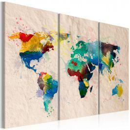 Obraz - Świat kolorów - tryptyk (60x40 cm)
