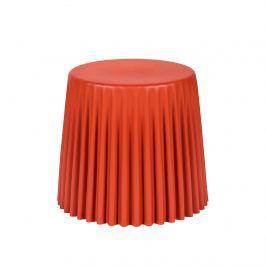 Taboret śr. 47cm King Home Cap ceglasty/czerwony