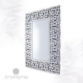 Bell - prostokątne lustro dekoracyjne w lustrzanej ramie