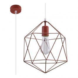 Lampa wisząca 100x25x25cm Sollux Lighting Gaspare miedziana