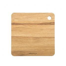 Kwadratowa deska drewniana 27 x 27 cm Healthy Plan By Ann - Anna Lewandowska