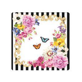 Zestaw podkładek korkowych 6szt 10,5x10,5cm Nuova R2S Flowers Glamour