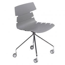 Krzesło D2 Techno Roll szare