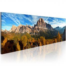 Obraz - góra, krajobraz - panorama (120x40 cm)
