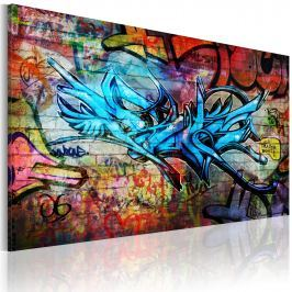 Obraz - Anonymous graffiti (60x40 cm)