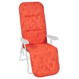Poduszka na leżak ogrodowy 165x49cm Sparta Bazkar pomarańczowa