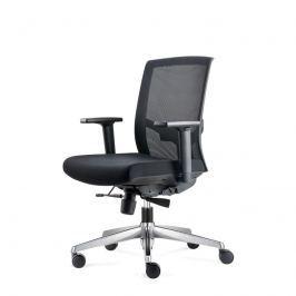 Fotel biurowy Ergo czarny/czarny