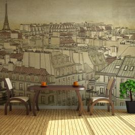Fototapeta - Żegnaj Paryżu (200x154 cm)