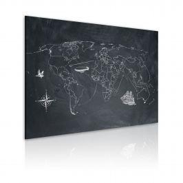 Obraz - Podróż dookoła świata (60x40 cm)