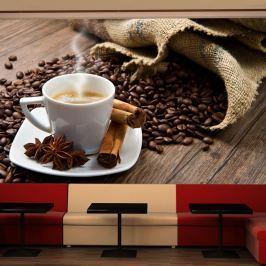 Fototapeta - Star anise coffee (450x270 cm)