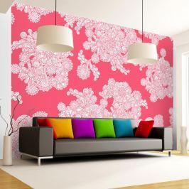 Fototapeta - Różowe obłoki (300x210 cm)