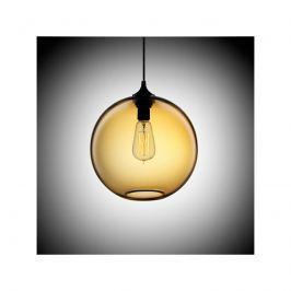 Lampa wisząca 25cm Step into design Love Bomb bursztynowa