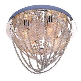 Plafon Avignon 4 Lampex srebrny