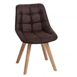 Krzesło Woody D2 brązowe ciemne