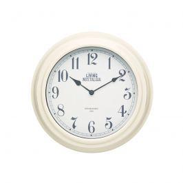 Zegar ścienny 25,5 cm Kitchen Craft Living Nostalgia kremowy