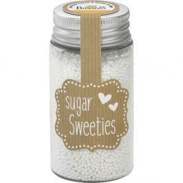 Cukier ozdobny mini perełki Birkmann biały