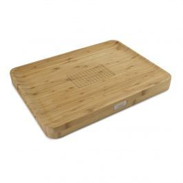 Deska do krojenia 40x30cm Joseph Joseph Cut&Carve Bamboo brązowa
