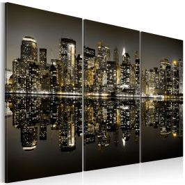 Obraz - Złoto Nowego Jorku (60x40 cm)
