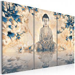 Obraz - Buddyjski rytuał (60x40 cm)