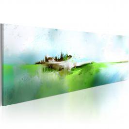 Obraz - Zaginiona Atlantyda (120x40 cm)