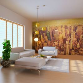 Fototapeta - Nowy Jork w sepii (550x270 cm)