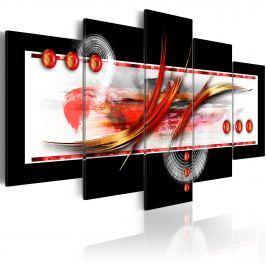 Obraz - Artystyczna elegancja (100x50 cm)