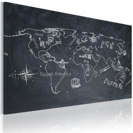 Obraz - Podróże kształcą (60x40 cm)