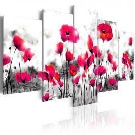 Obraz - Potępienie - 5 części (100x50 cm)