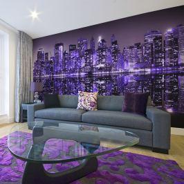 Fototapeta - American violet (550x270 cm)