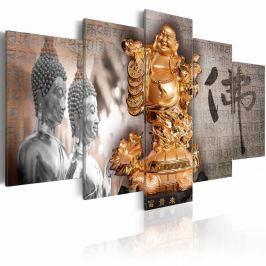 Obraz - Smile to Buddha! (100x50 cm)