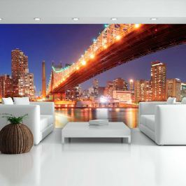Fototapeta - Queensborough Bridge - New York (550x270 cm)