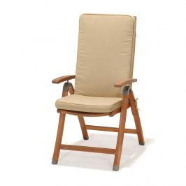 Krzesło składane z podłokietnikami  z poduszką D2 Catalina