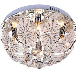Plafon Lentia 4 Lampex srebrny