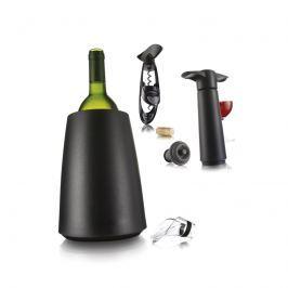 Zestaw akcesoriów do wina Vacu Vin 7 elementów