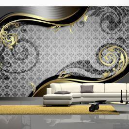 Fototapeta - Złoty ślimak (300x210 cm)