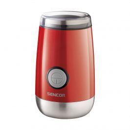 Młynek elektryczny do kawy ziarnistej 11,6x11,6x17,6cm Sencor SCG 2050RD czerwony