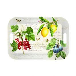 Taca z uchwytami Nuova R2S Botanical owoce