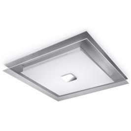 Plafon 50x50cm Sollux Lighting Ivo biało-srebrny