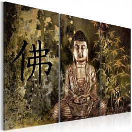 Obraz - Posąg Buddy (60x40 cm)