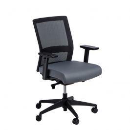 Fotel biurowy Press czarny/szary
