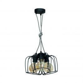 Lampa wisząca 100x35cm Milagro Vintage czarna
