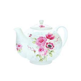 Czajnik do herbaty z zaparzaczem 1 l Nuova R2S Romantic róże