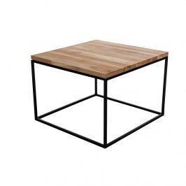 Stolik Cube D2 60x60cm czereśnia/ czarny